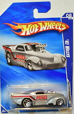 HOT WHEELS 2010 HW PERFORMANCE '41 WILLYS BF GOODRICH TIRES
