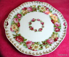 "Hermann Ohme Silesia (OHM124) 9 3/4""  HANDLED CAKE PLATE"