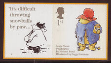 GREAT BRITAIN 2005 ANIMAL TALES PADDINGTON SELF/AD.UNMOUNTED MINT