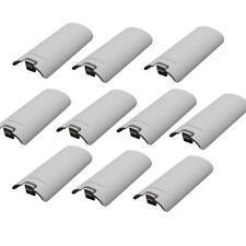 10 X Battery Cover Shell Case for Nintendo Wii Remote Controller White