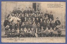 A178) Carte postale NOS PETITS GARS PATRONAGE SAINT-SAUVEUR 1913 (La Rochelle?)l