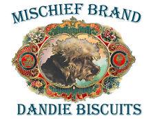 Dandie Dinmont - Mischief Brand Biscuit Tin & Cookies