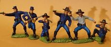 54mm TSSD ACW DISMOUNTED U.S. CAVALRY plastic toy soldiers