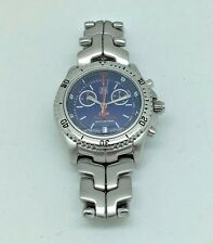 Men's Tag Heuer Link Searacer 200M Quartz Chronograph Wristwatch CT1115-0