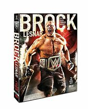 Wrestling WWE Brock Lesnar Eat Sleep Conquer Repeat DVD Brand NEW 3-Disc Set