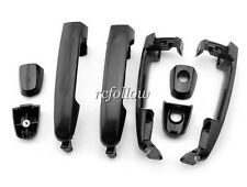 4 Pcs Black Outside Exterior Door Handle For Toyota RAV4 Prius 04-08 Matrix 2004