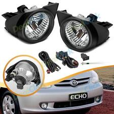 For 2003-2005 Toyota Echo Clear Fog Light OE Style Replacement LH+RH Kit