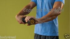 Forearm Exerciser Wrist Roller Adjustable Trainer Grip Exercise Fore Arm Bar Gym