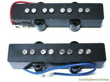 MATCHED PAIR OF ELECTRIC BASS GUITAR JAZZ PICKUPS NEW