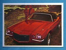 AUTO FLASH - Ed.COX - Figurina/Sticker n. 19 - CHEVROLET CAMARO LT -New