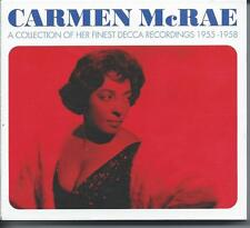 Carmen McRae - A Collection Of Her Finest Decca Recordings 1955-1958 (3CD) NEW