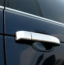 Polished stainless steel DOOR HANDLE cover KIT for Range Rover L322 chrome vogue