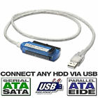 "USB 2.0 to IDE SATA Hard Drive Adapter Cable for 2.5"" Hard Disk HDD USB2.0"