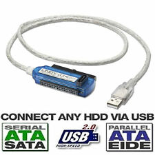 "Usb 2.0 A Ide Disco Duro Sata Cable Adaptador Para 2.5 ""Disco Duro Hdd Usb 2.0"