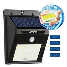 20 LEDs Solar Power Motion Sensor Garden Security Lamp Outdoor Waterproof Light