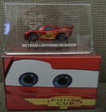 DISNEY WORLD OF CARS RS TEAM LIGHTNING MCQUEEN TARGET EXCLUSIVE RED BOX BJT30