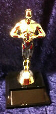 "ACHIEVEMENT TROPHY, VICTORY, AWARD 8"" Resin trophy statue FREE Personalization"