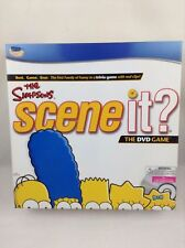 The Simpsons Scene It? Trivia DVD Board Game New Factory Sealed