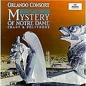 Orlando Consort - Mystery of Notre Dame (CD, 1998)