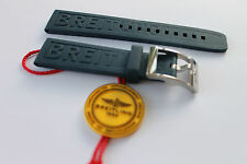 100% Genuine New Breitling Dark Blue Caoutchouc Rubber Diver Pro 3 Strap 20-18mm