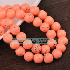 Wholesale 6mm/8mm/10mm/12mm Colorful Round Glass Loose Spacer Beads Lot Styles