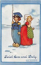 POSTCARD  CHILDREN   Twixt Love and  Duty                 Agnes  Richardson