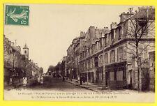 cpa LE BOURGET Seine St Denis Rue de FLANDRE Guerre 1870 E. BAROCHE Visé PARIS