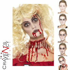Zombie Walking Dead Make-Up FX Blood Halloween Face Paint Fancy Dress Costume