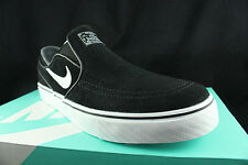 NIKE SB ZOOM STEFAN JANOSKI SLIP ON BLACK WHITE COOL GREY 833564 001 SZ 8