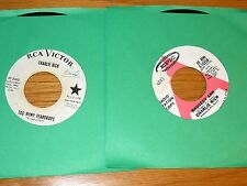 PROMO LOT of 4 COUNTRY 45 RPMs - CHARLIE RICH