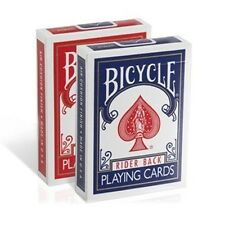 Bicycle Rider Back Poker Playing Cards - 2 Decks Brand New Sealed
