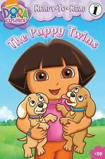 The Puppy Twins (Ready-To-Read Dora the Explorer - Level 1)  Paperback