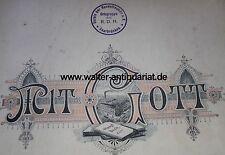 Kassenbuch 1913-1944 Verein der Hundefreunde Saarbrücken Saar Hunde Verein RDH