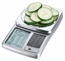 Digital Nutrition Scale - Diet Food Calories, Fat, Protein, Sugars Calculator