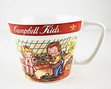 Campbell Kids Soup Mug Cup Flower Garden Westwood 2000 Collectible