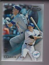 2016 Topps Gold Label Class 1 BLUE Parallel #75 Corey Seager RC Dodgers