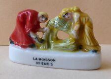 Fève pub Boulangerie Banette 2000 - La Moisson au XIIème siècle