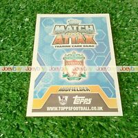 13/14 STAR PLAYERS STAR SIGNINGS CARD MATCH ATTAX 2013 2014 SIGNING PLAYER
