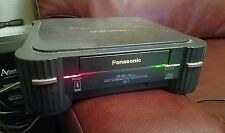 VINTAGE Panasonic REAL 3DO FZ1 System Console With Road Rash Game Tested Working