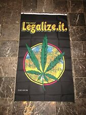 3x5 Legalize It Weed Marijuana Vertical Flag 3'x5' Brass Grommets