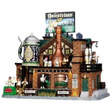 Yulesteiner Brewery NIB - Lemax - Christmas - Animated, Lights and Sounds #05073