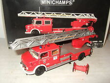 Minichamps 031070 Rare 1966 Mercedes Benz 1113 Aerial Ladder in 1:43 Scale.