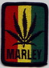 Cheap Lot of 100 RASTA  Leaf Marley Embroidered Patches 2