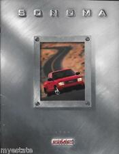 1999 99 GMC Sonoma original sales  Brochure MINT