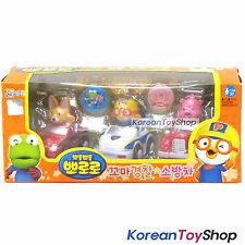 Pororo Mini Car 3 pcs Set Toy Police Patrol Fire Truck Full Back Gear