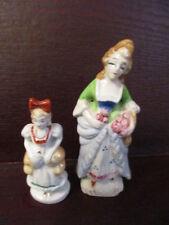 Vintage Figurines - Made in JAPAN  - Fancy Victorian Ladies