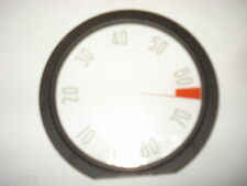 Tachometer Lens,  Outer 8000 RPM With Numbers, New.  58 Corvette