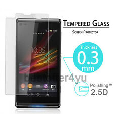 100% Geniune Tempered Glass Screen Protector For SONY Xperia L S36H C2105