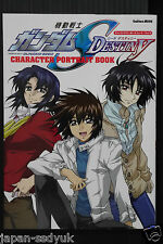 Gundam SEED Destiny Character Portrait Book OOP Japan