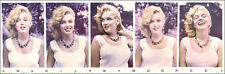 Marilyn Monroe 5 Picture Sam Shaw Photography Poster OOP